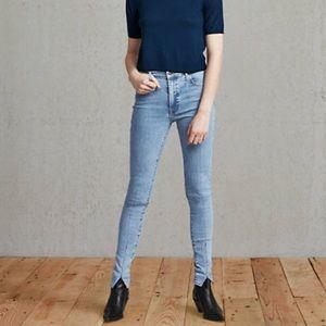 Levi's Premium Denim 'Slivar' High Rise Jeans